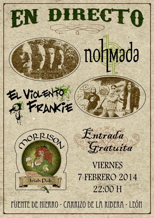 20140207 Leon con El violento frankie